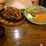 Delicious Chimichamgas,  Awesome Fajitas