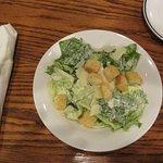 Caesar salad is tasty at Red Lobster in Barrie, Ontario.