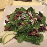 Salad, dinner, dessert