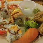 sushi & frog legs