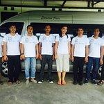 NUSA WISATA tour and transport crew