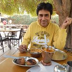 Having Rajasthani Cuisine at Desert Boy