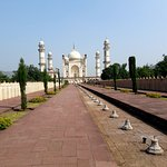 Resemblance of the Taj Mahal