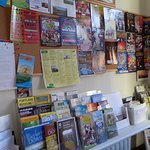 Leaflets and Events noticeboard