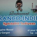 Franco-Indien Foto