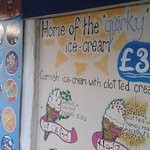 A wide choice of ice creams