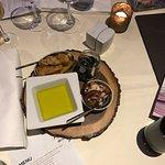 Portuguese set menu in hotel restaurant. Resort view apartment. Heated pool.