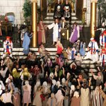 large cast of Great Passion Play