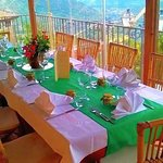 veranda del ristorante del borgo