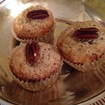Home baked muffins.