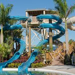 The Lazy River Waterslides