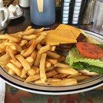 Burger & Fries for Breakfast!
