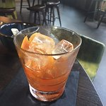 Old Fashion with hot chili oil