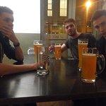 Une bière allemande sans prétention pour inaugurer la bar de l'auberge
