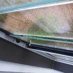 Gap in window