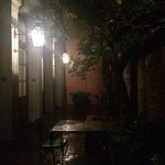 On a wet and eary night love this hotel they say it is haunted and I do believe that . Can't wai
