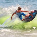 Skim Boarding on Vilano Beach