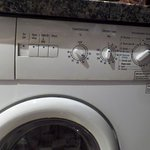 control panel of washer/ dryer
