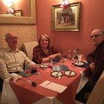 Table 1 turkey & tinsel treat!