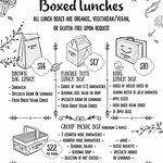 New! Boxed Lunches