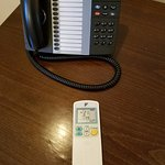 Phone and remote for A/C
