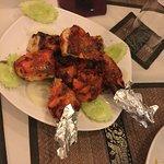 Tandoori chicken was great
