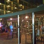 Harry's Bar at night