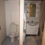 WC e duche separados