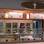 Caffe Lindo inside Dubrovnik airport