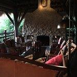 Fireplace in Burma Bar