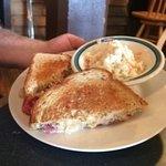 Reuben Sandwich (slaw side)