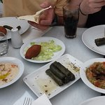 these are the starters,for the main course didn't took pics as we were so hungry that we forgot