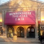 front of the Bensenville Theatre