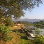 Beautiful riverside location 200m from Zambezi River