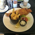 Fish and chips were delicious