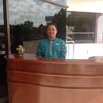 One of the friendly staff!