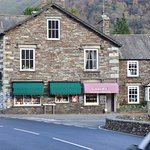 Lucia's takeway and cafe in the centre of Grasmere