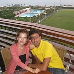 It was nice and big hotel in lara  Lara is east of the antalya with sand beach but kemer is in t