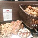 Brot und Brötchenauswahl