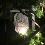 Morgan's Mango sign