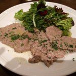 Delicious veal scaloppine