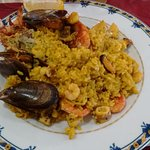 Paella au homard