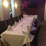 Private dining area available