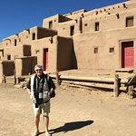 Pueblo building up close