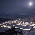 Photo: Vemund Solli, Longyearbyen, view, dark season