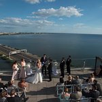 Rooftop Terrace Wedding Ceremony