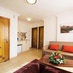 Mini suite living room