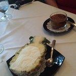 Icecream and espresso moose