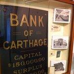 2016 Bank of Carthage mini-display