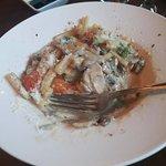 The white wine pasta sauce